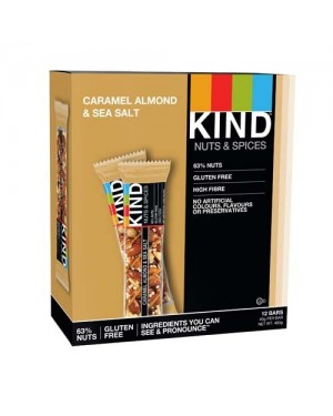 Kind Bars Caramel Almond & Sea Salt (DAIRY) 40g x 12