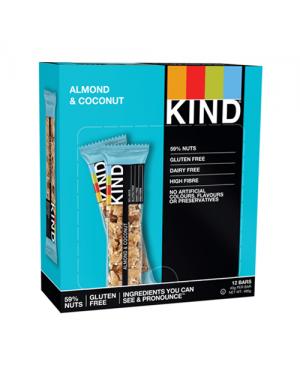Kind Bars Almond & Coconut 40g x 12