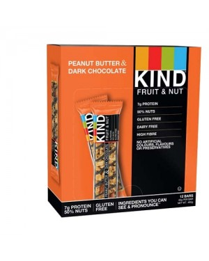 Kind Bars Peanut Butter & Dark Chocolate 40g x 12
