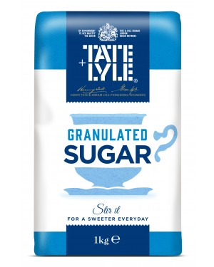 Tate & Lyle Granulated Sugar 1Kg x 15