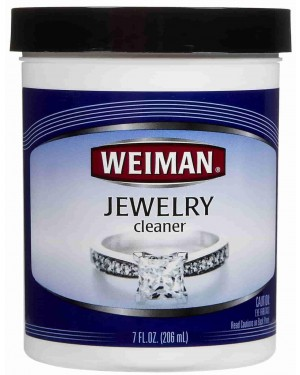 Weiman Jewellery Cleaner Jar 7oz (207ml) X 6