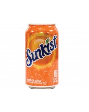 Sunkist Orange Soda Cans 12oz (355ml) x 12
