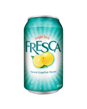 Fresca Soda Can Natural Grapefruit 355ml x 12