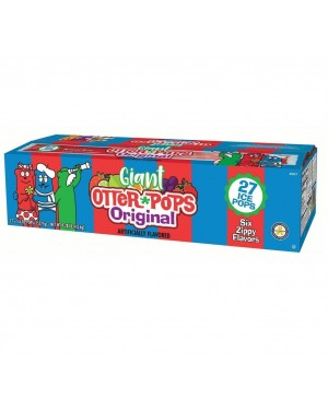 Otter Pops Assorted 5.5oz (155.9g) 27's