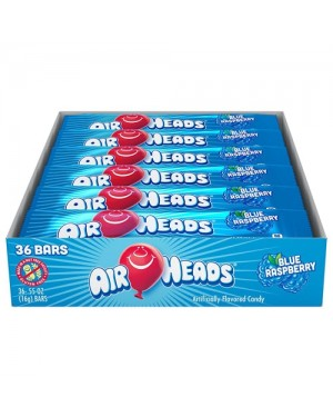 Airheads Blue Raspberry 0.55oz (16g) x 36