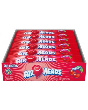 Airheads Cherry 0.55oz (16g) 36's