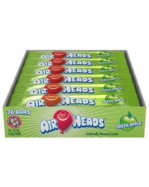 Airheads Green Apple 0.55oz (16g) 36's