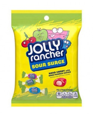 Jolly Rancher Peg Bag Hard Fruit 'N Sour 6.5oz (184g) x 12