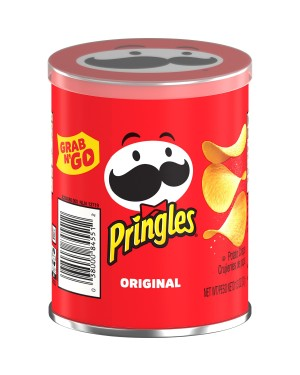 Pringles Grab & Go Potato Crisps 1.3oz (37g) x 12