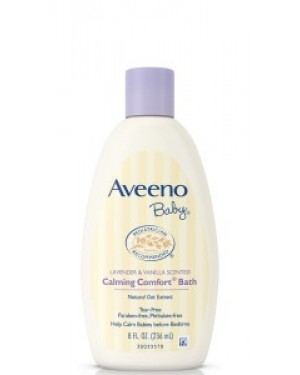 Aveeno Baby Calming Bath 236ml (8oz) x 24