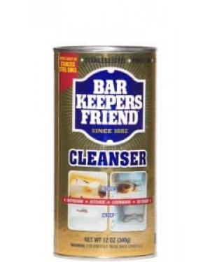Bar Keepers Friend Cleanser 12 oz (340g) x 12
