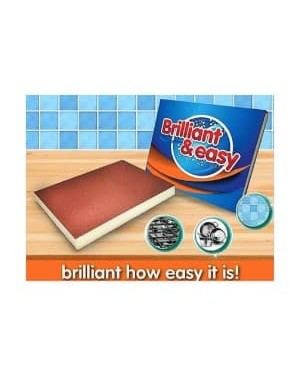 Brilliant and Easy Sponges 3's x 10 X 10