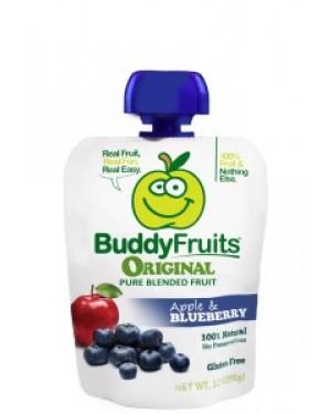 Buddy Fruits Original Apple Blueberry 3.2oz (90g) x 18