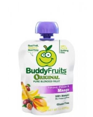 Buddy Fruits Pure Blended Mango Passion & Banana Snack 3.2oz (90g) x 18