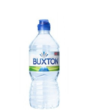 Buxton Natural Still Mineral Water 750ml Sports Cap x 15