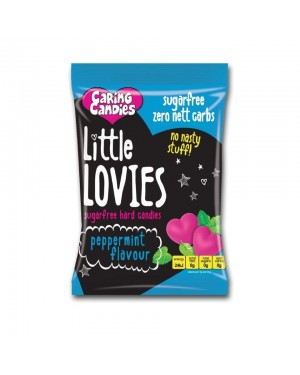 Caring Candies Little Lovies Peppermint 100g x 12