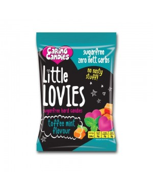 Caring Candies Little Lovies Toffee Mint 100g x 12