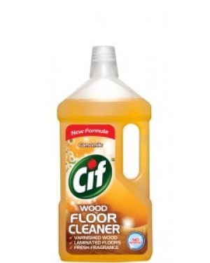 Cif Liquid Floor Cleaner Wood Chamomile 1L x 8