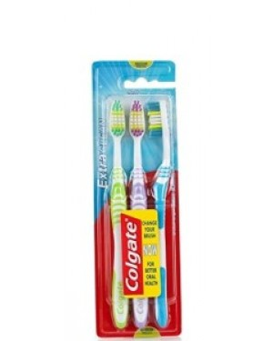Colgate Tooth Brush Extra Clean Triple Pack x 6