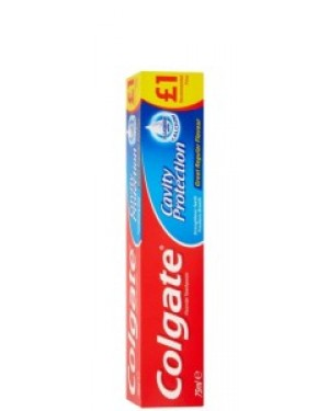 Colgate Toothpaste Original PM £1 75ml x 12