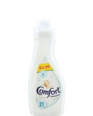 Comfort Concentrate Fabric Conditioner Pure 750ml PM £1.99 x 8