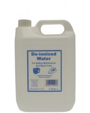 De-ionised Water 5L x 2