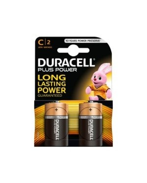 Duracell Plus Power C Batteries 2 pk x 10