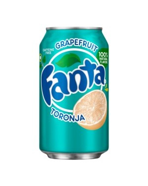 Fanta Grapefruit Soda Can 12oz (355ml) x 12