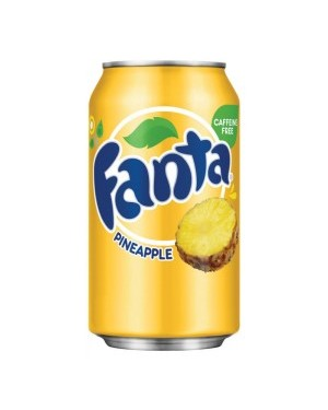 Fanta Pineapple Can 12oz (355ml) X 12