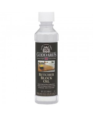 Goddards Butcher Block Oil 8oz (240ml)