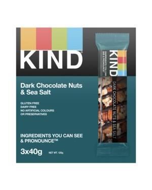 Kind Dark Chocolate Nuts & Sea Salt Multi-pack 3 x 40g x 12