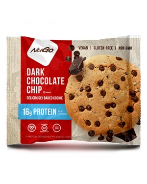 Nugo Protein Cookie Dark Chocolate Chip 3.53oz (100g) x 12