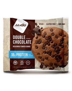 Nugo Protein Cookie Double Chocolate 3.53oz (100g) x 12