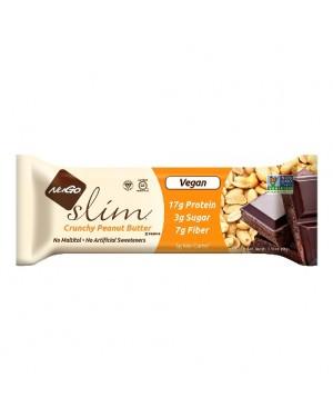 NuGo Slim Crunchy Peanut Butter x12