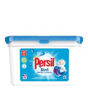 Persil Capsules Non Bio 3-In-1 15s Price Mark £3.99