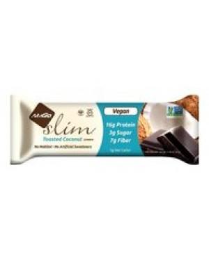 NuGo Slim Crunchy Toasted Coconut 1.59oz small img
