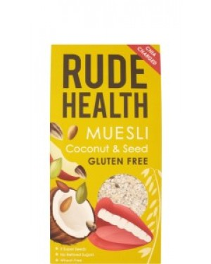 Rude Health Coconut & Seed Gluten Free Muesli 500g 112 x 5