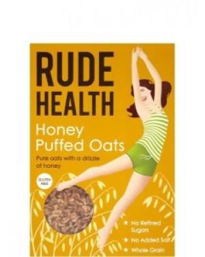 Rude Health Honey Puffed Oats 240g 405 x 4