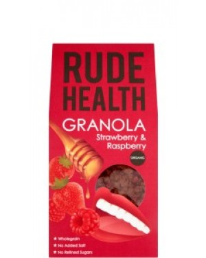 Rude Health Strawberry & Raspberry Granola 450g 203 x 5