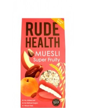 Rude Health Super Fruity Muesli 500g 102 x 5