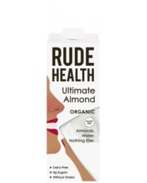 Rude Health Ultimate Almond Drink Organic 1L 806 x 6