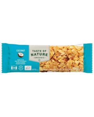 Taste of Nature Coconut Organic 40g x 16