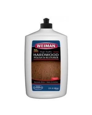 Weiman High Traffic Hardwood Polish & Restorer 32oz (946ml) x 6