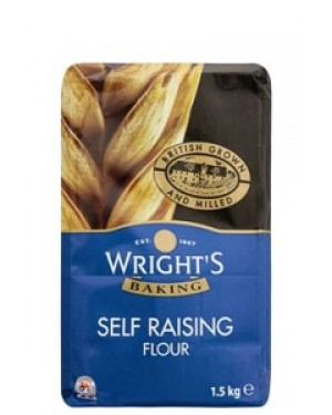 Wrights Self Raising Flour 1.5Kg x 5